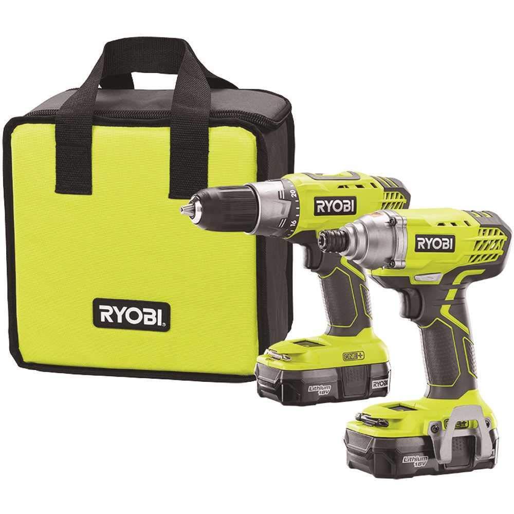 Ryobi Drill Driver Combo