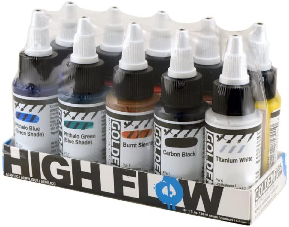 Golden High Flow Acrylic Paint