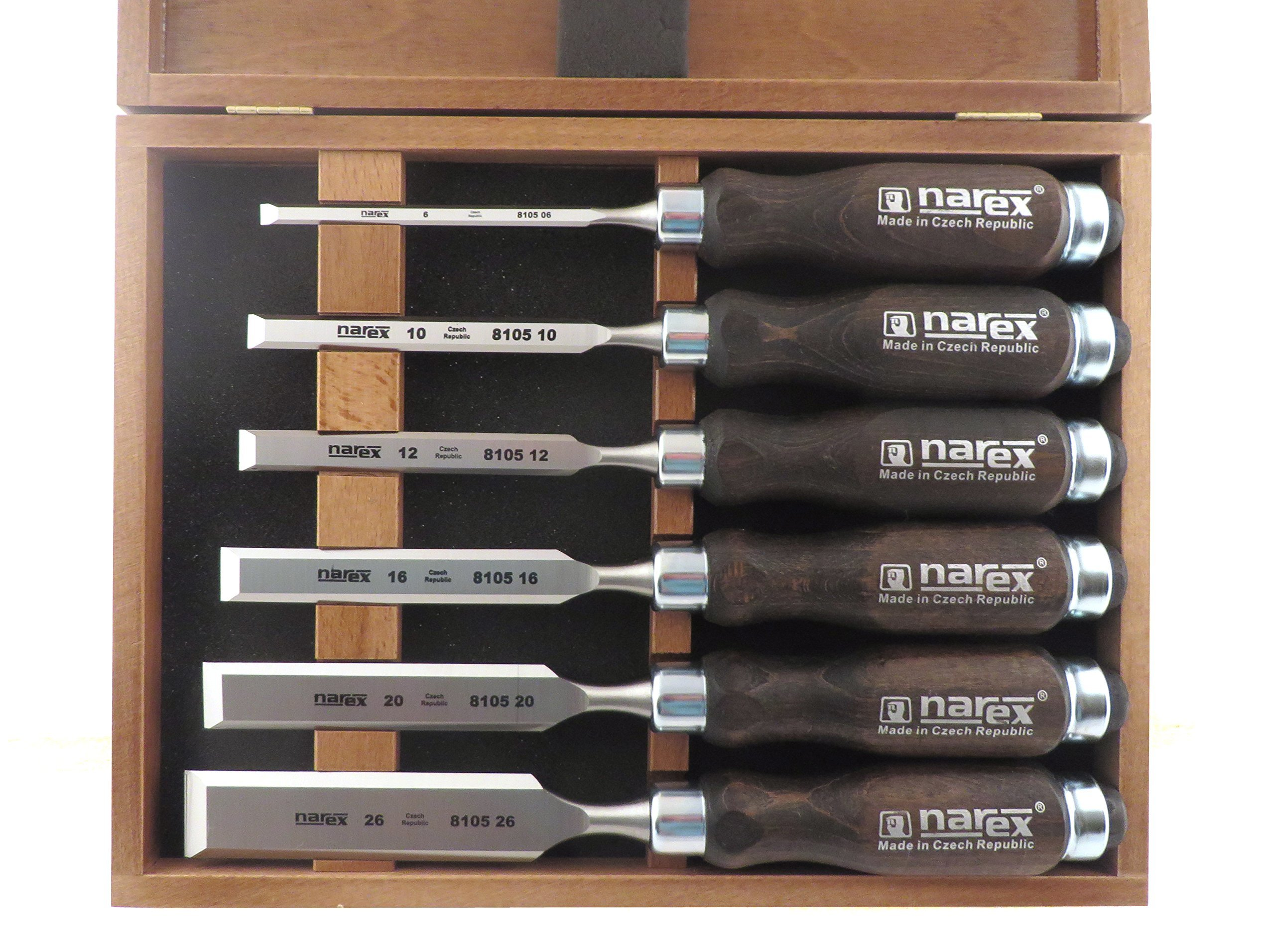 Narex 6pc Chisel Set