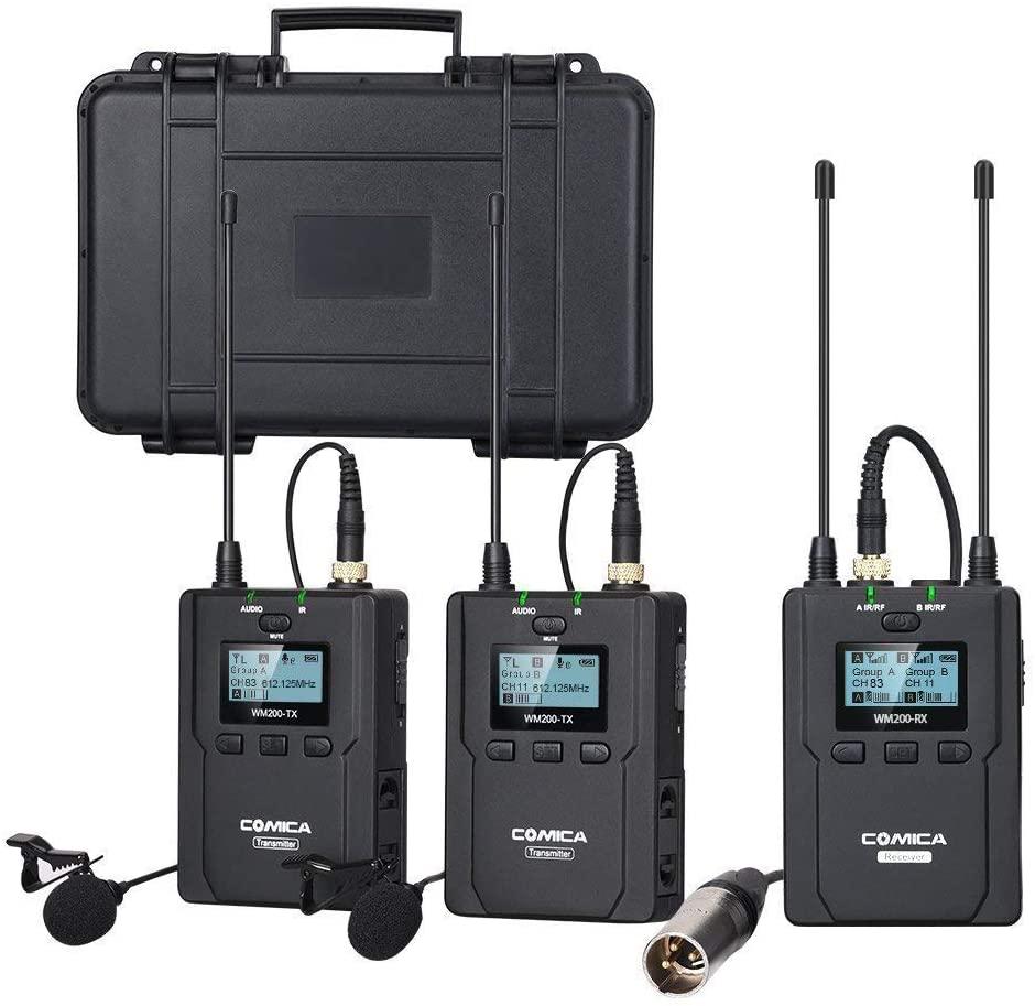 Comica CVM-WM200 Wireless Lav Microphone System