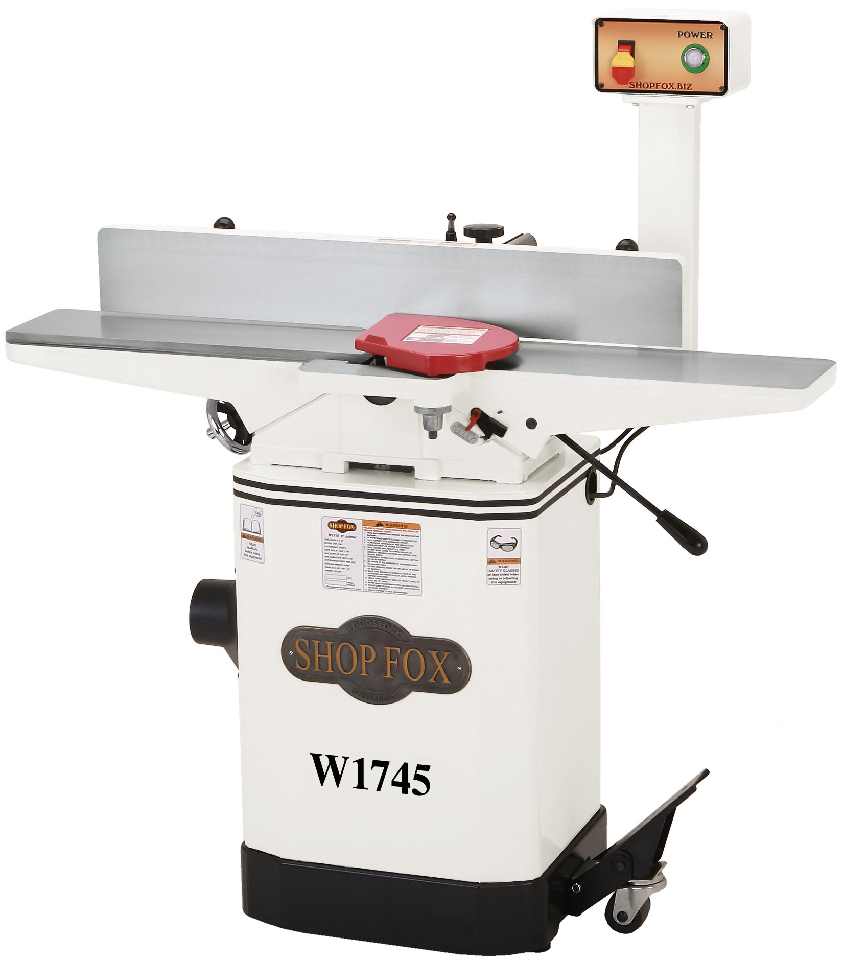 Shop Fox W1745 6in Jointer
