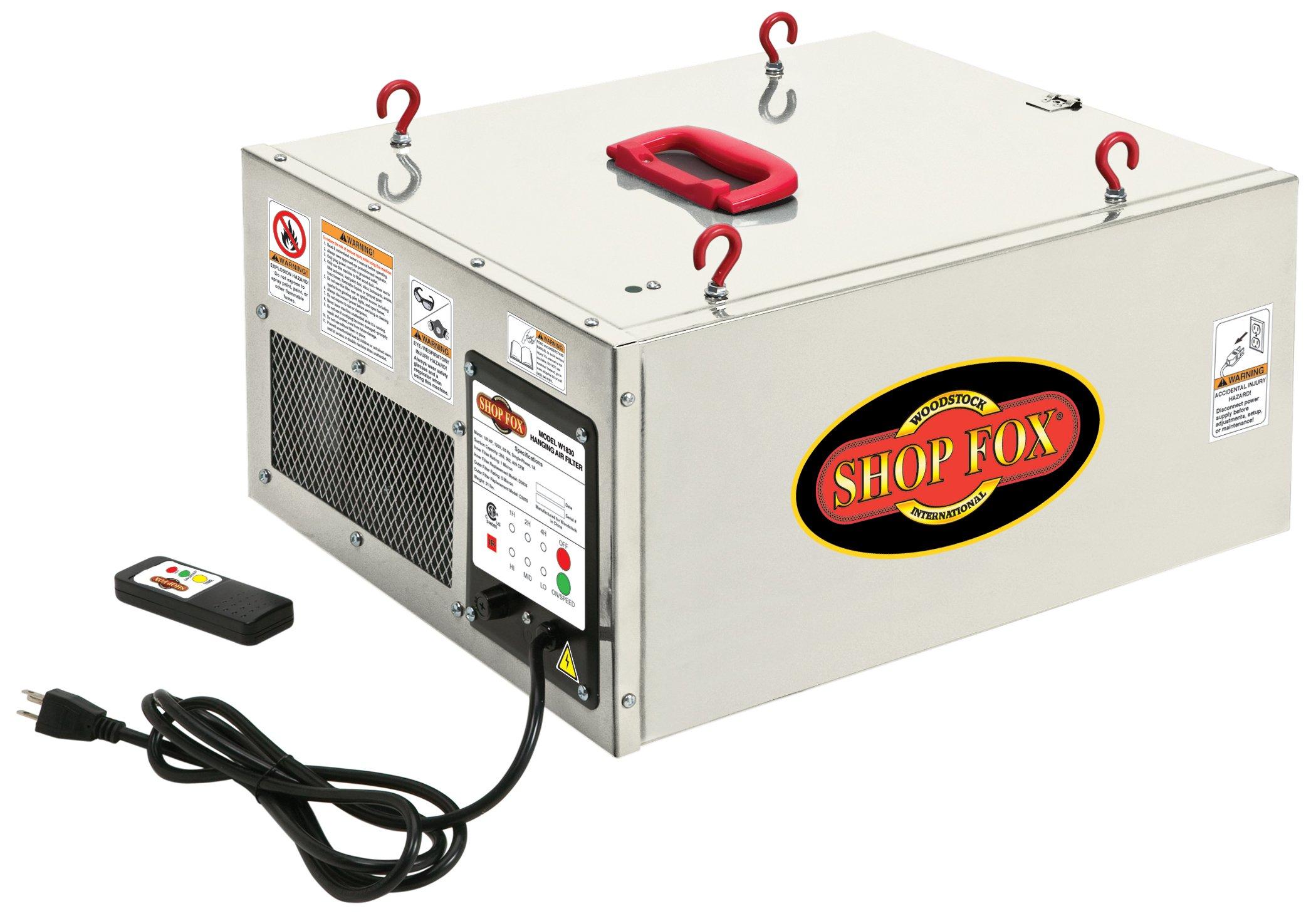 Shop Fox W1830 Air Filter