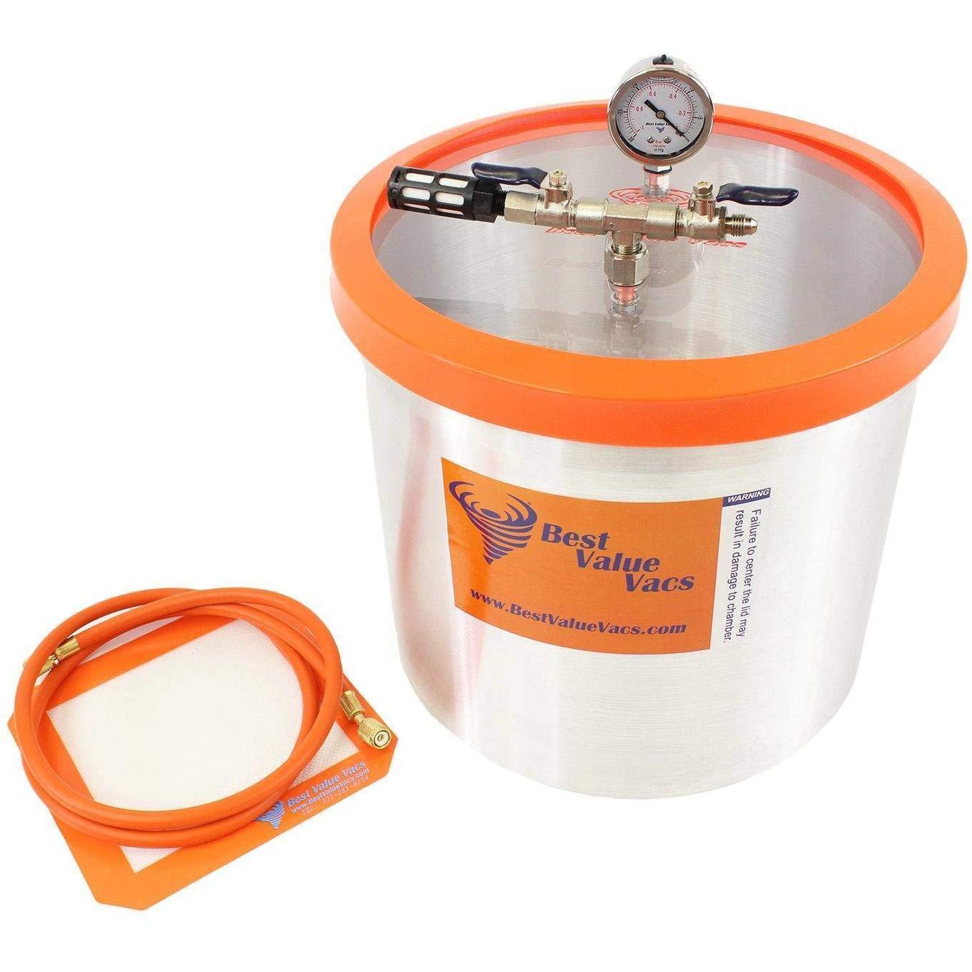 Best Value Vacs GV5GA Vacuum Chamber