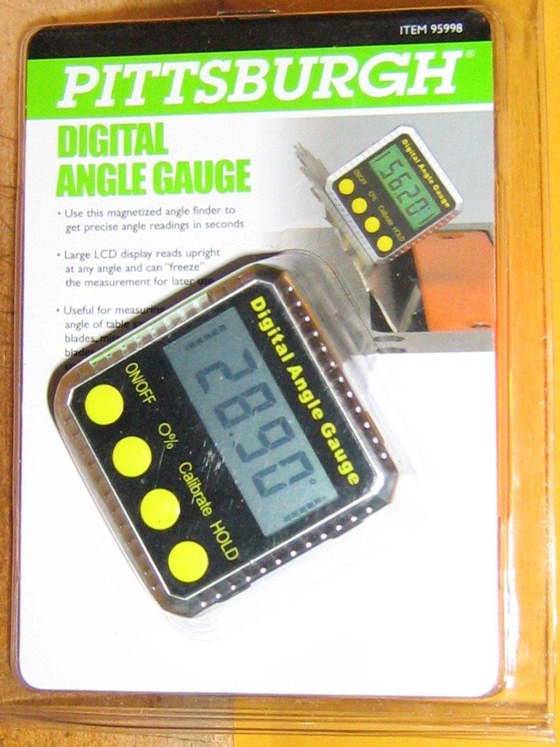 Pittsburgh Cen-Tech # 95998 Digital Angle Gauge