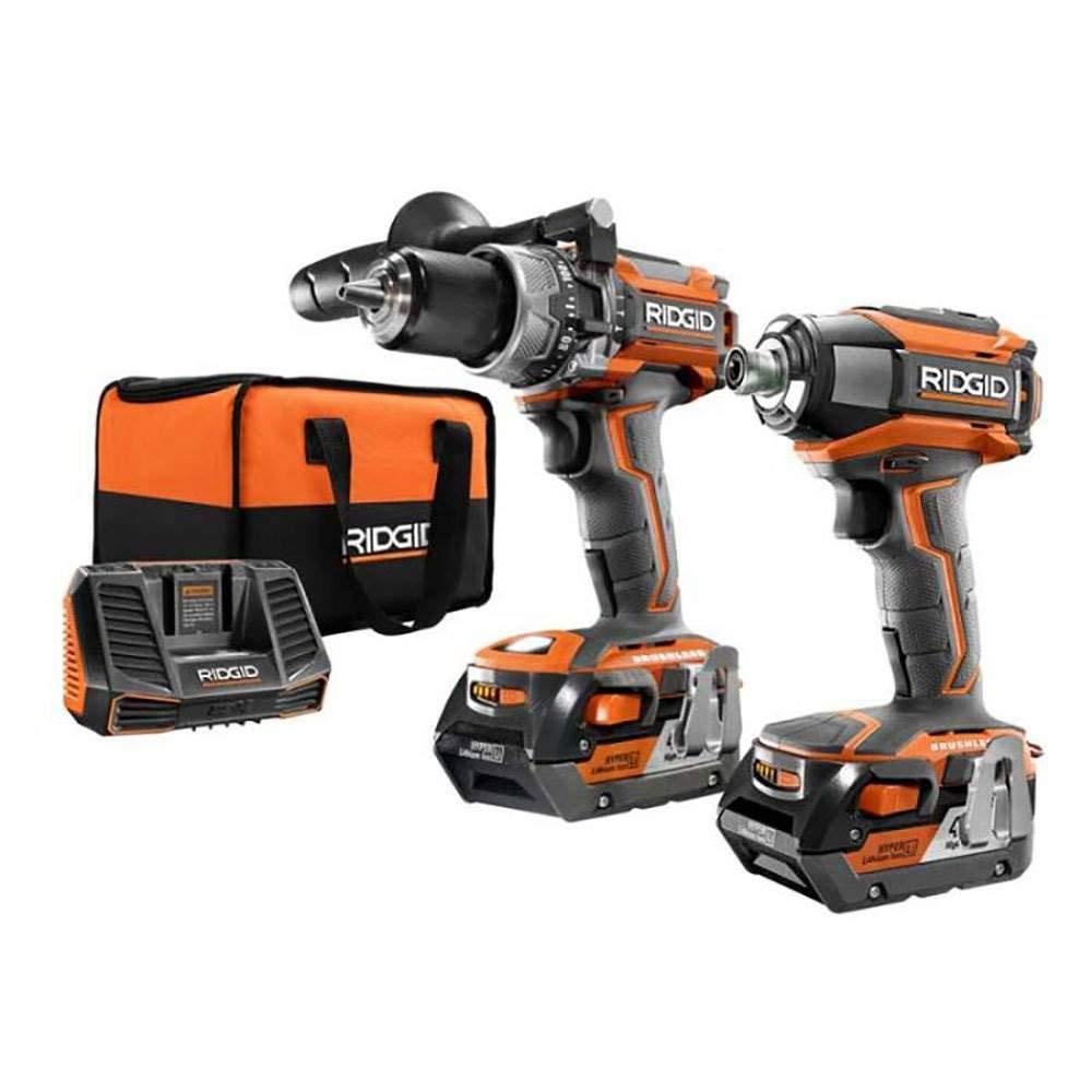 Rigid R9205 Drill and Driver Kit