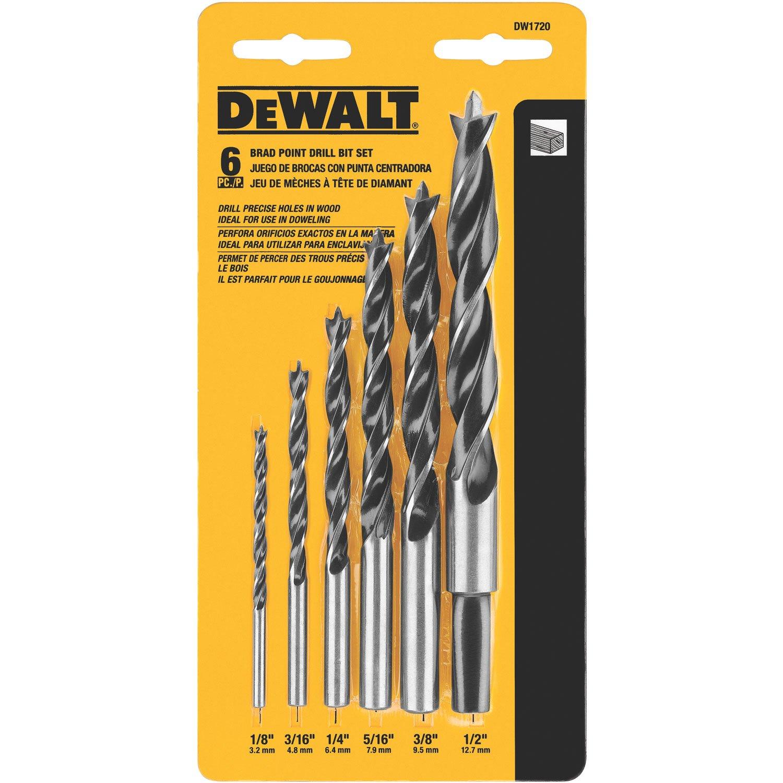 DEWALT DW1720 Drill Bit Set