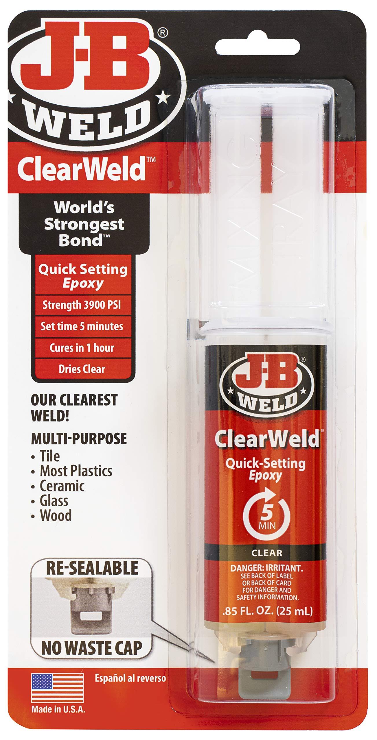 J-B Weld 50112 ClearWeld Epoxy