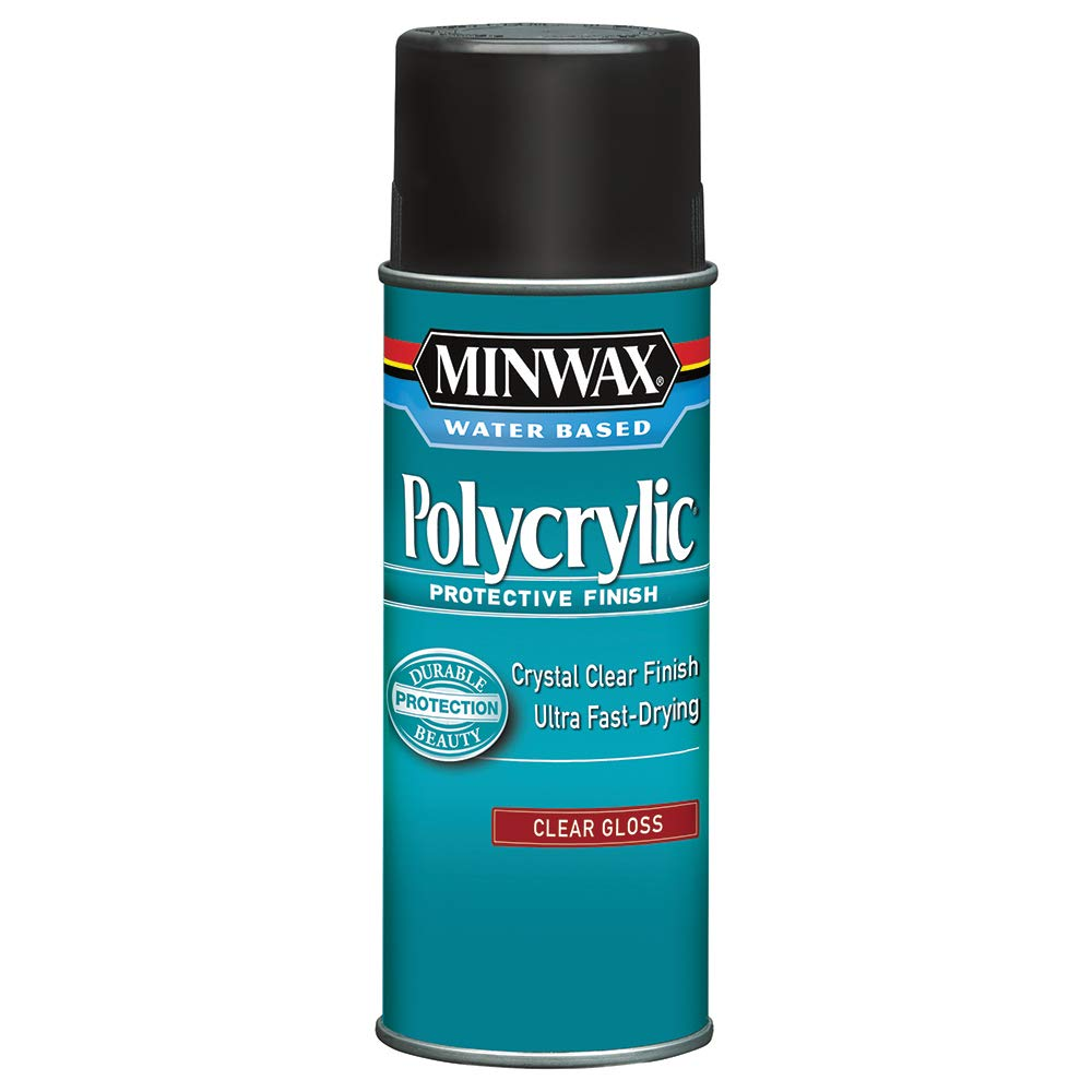 Minwax 35555000 Water-Based Polycrylic Clear