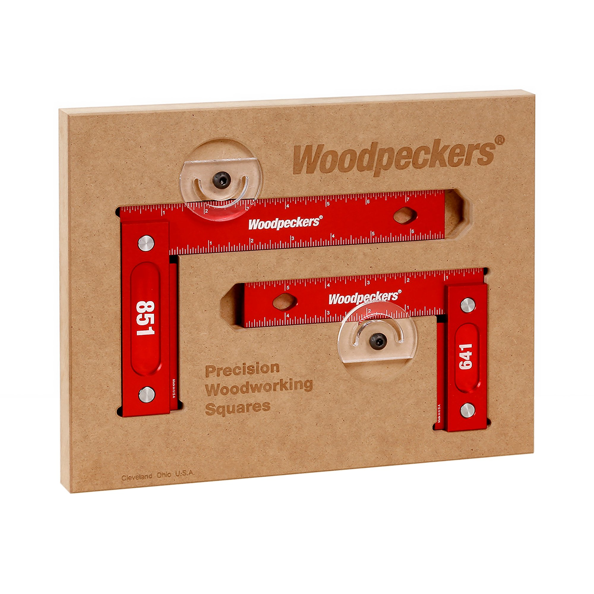 Woodpeckers 641 & 851 Combo Square