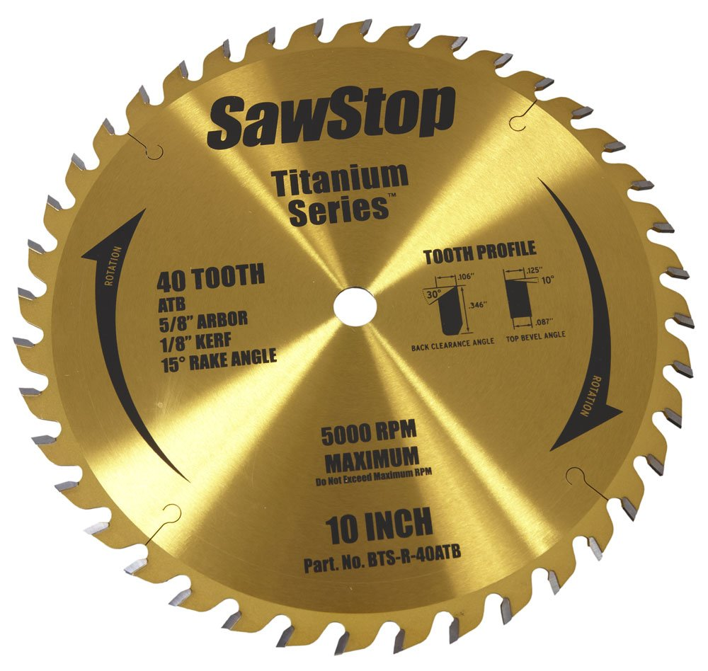 SawStop Saw Blade