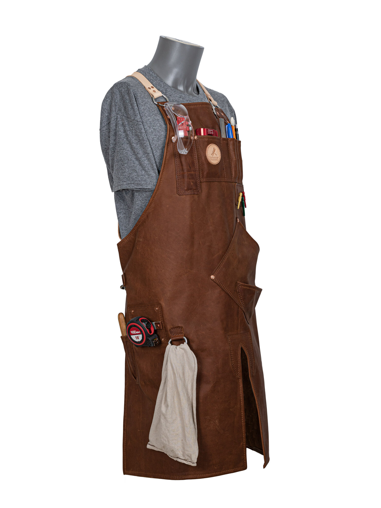 Dragonfly Leather Apron