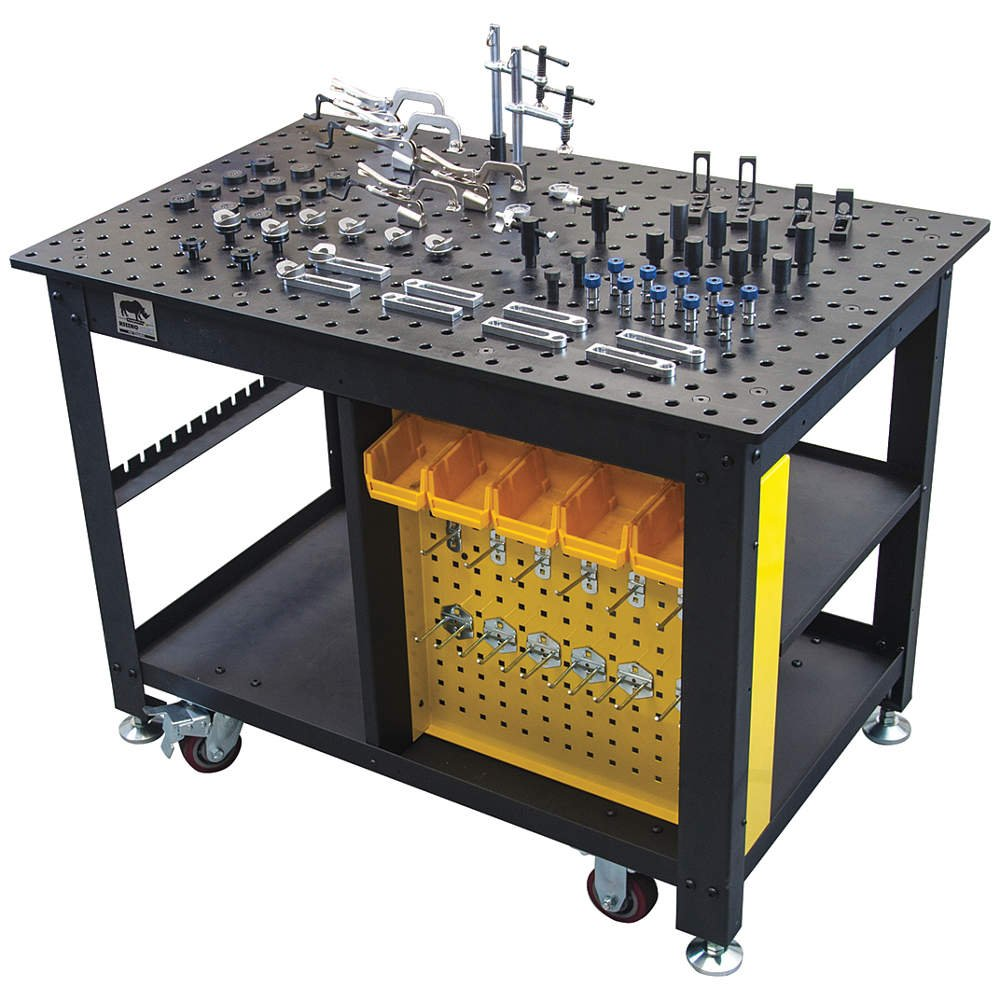 4ft Rhino Cart Mobile Fixturing Station