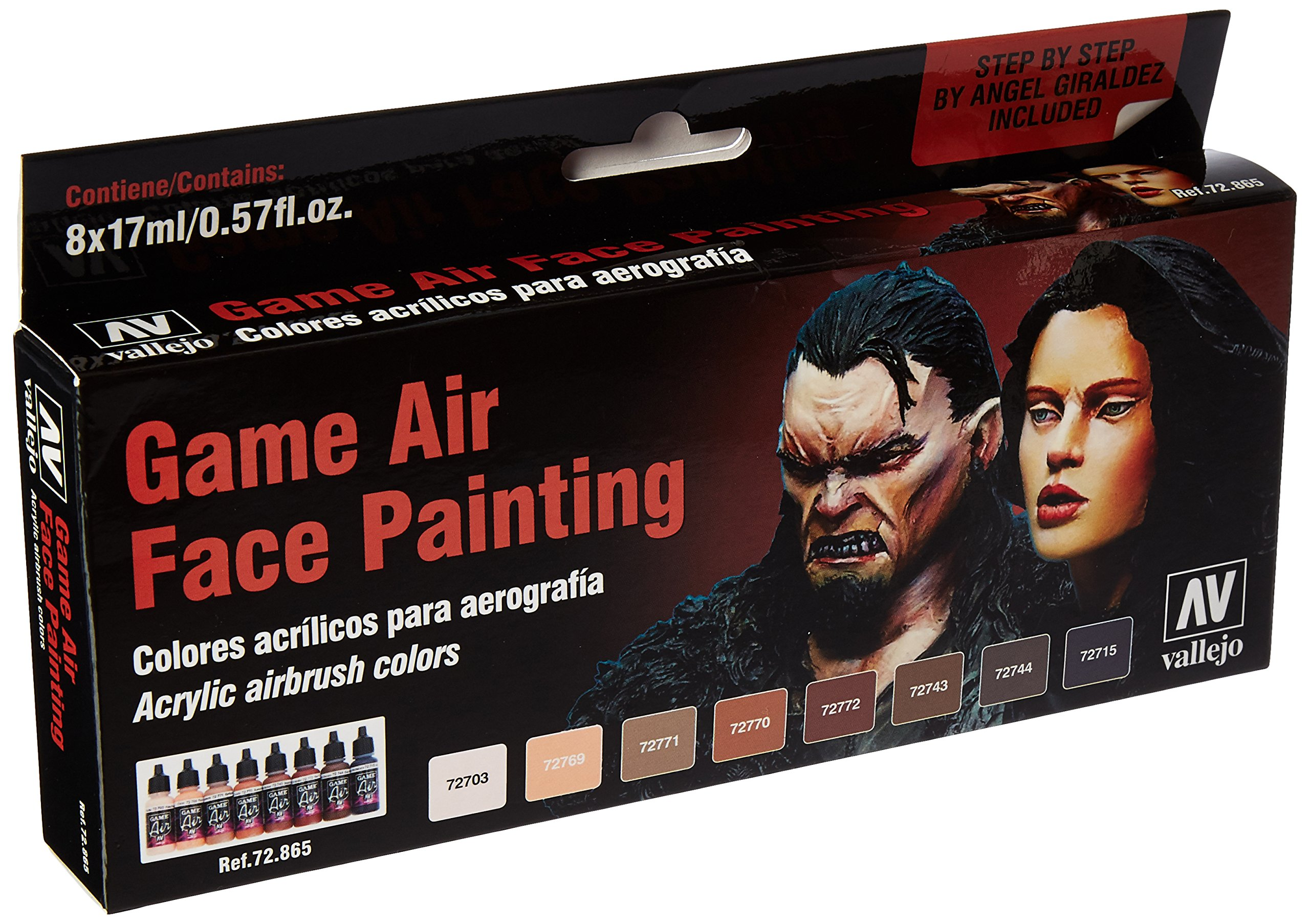Vallejo Face Painting Set