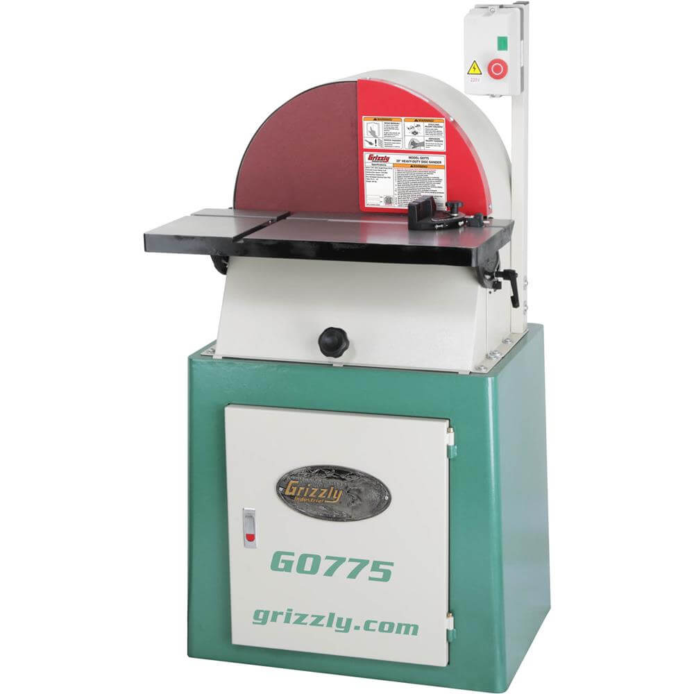 Grizzly G0775 20in Disc Sander