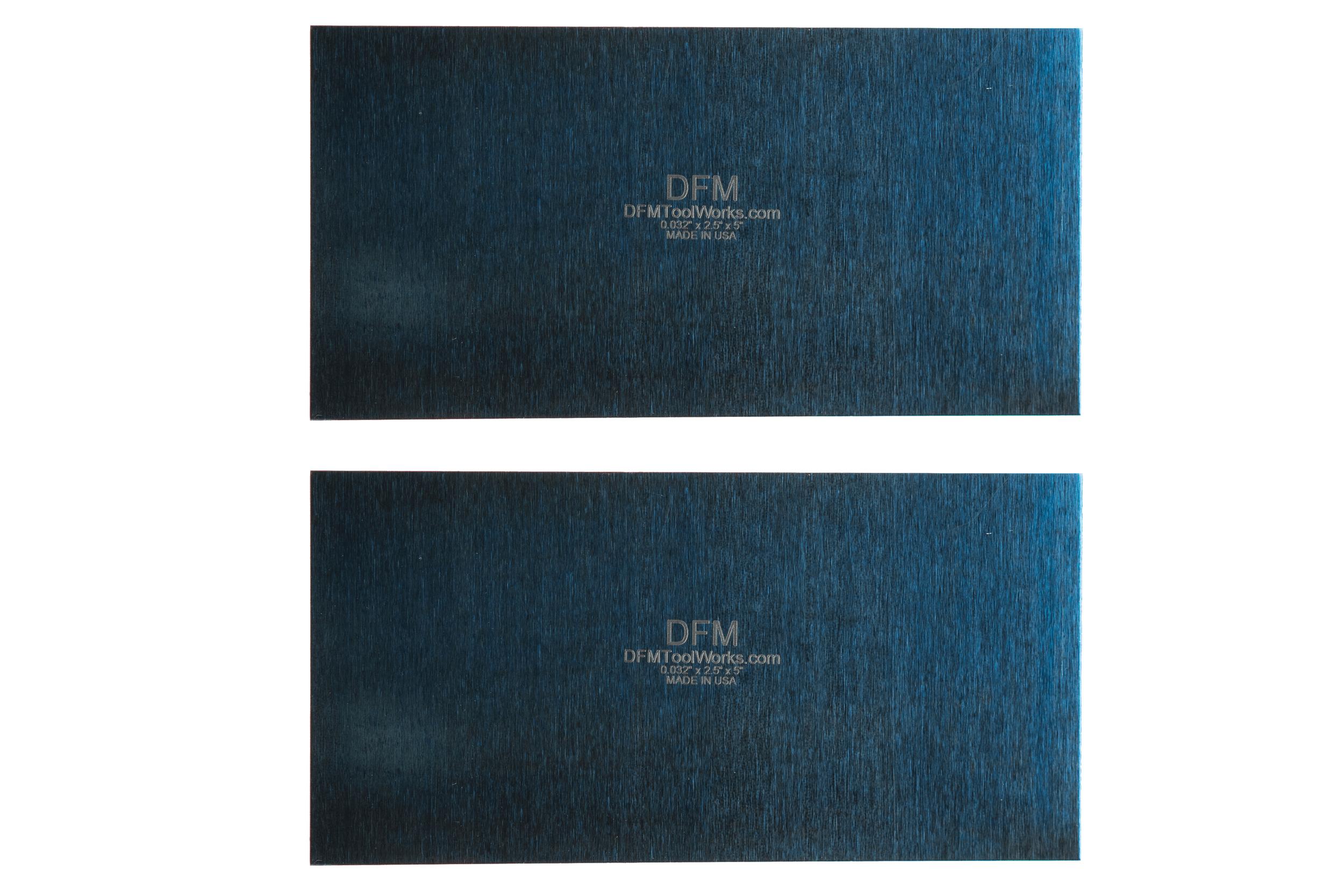 DFM Blue Card Scrapers