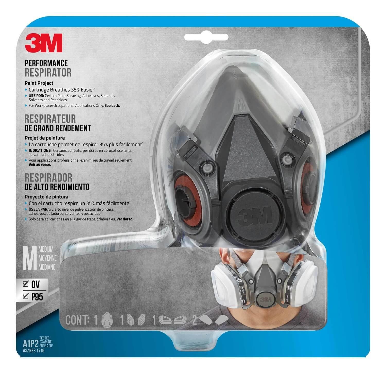 3M Paint Project Respirator