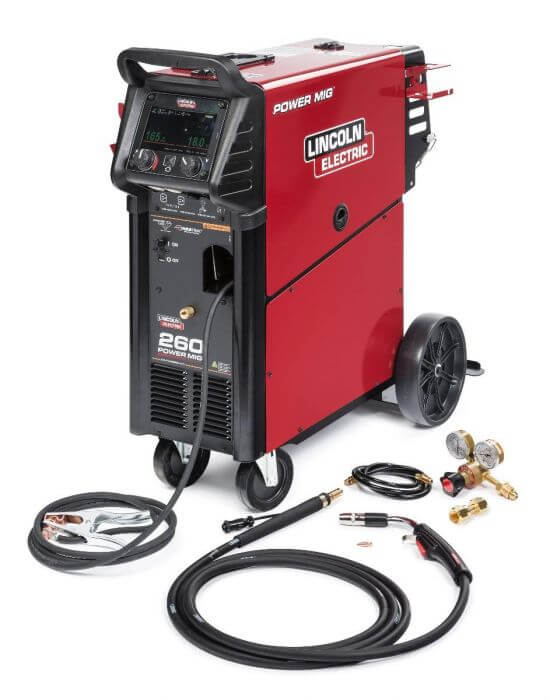 Lincoln Electric Mig 260 Welder