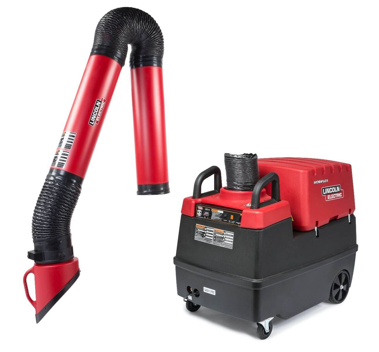 Lincoln Electric Mobiflex 400-MS Welding Fume Extractor