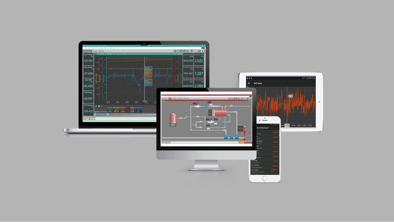 Data Acquisition software wettest well test oil and gas