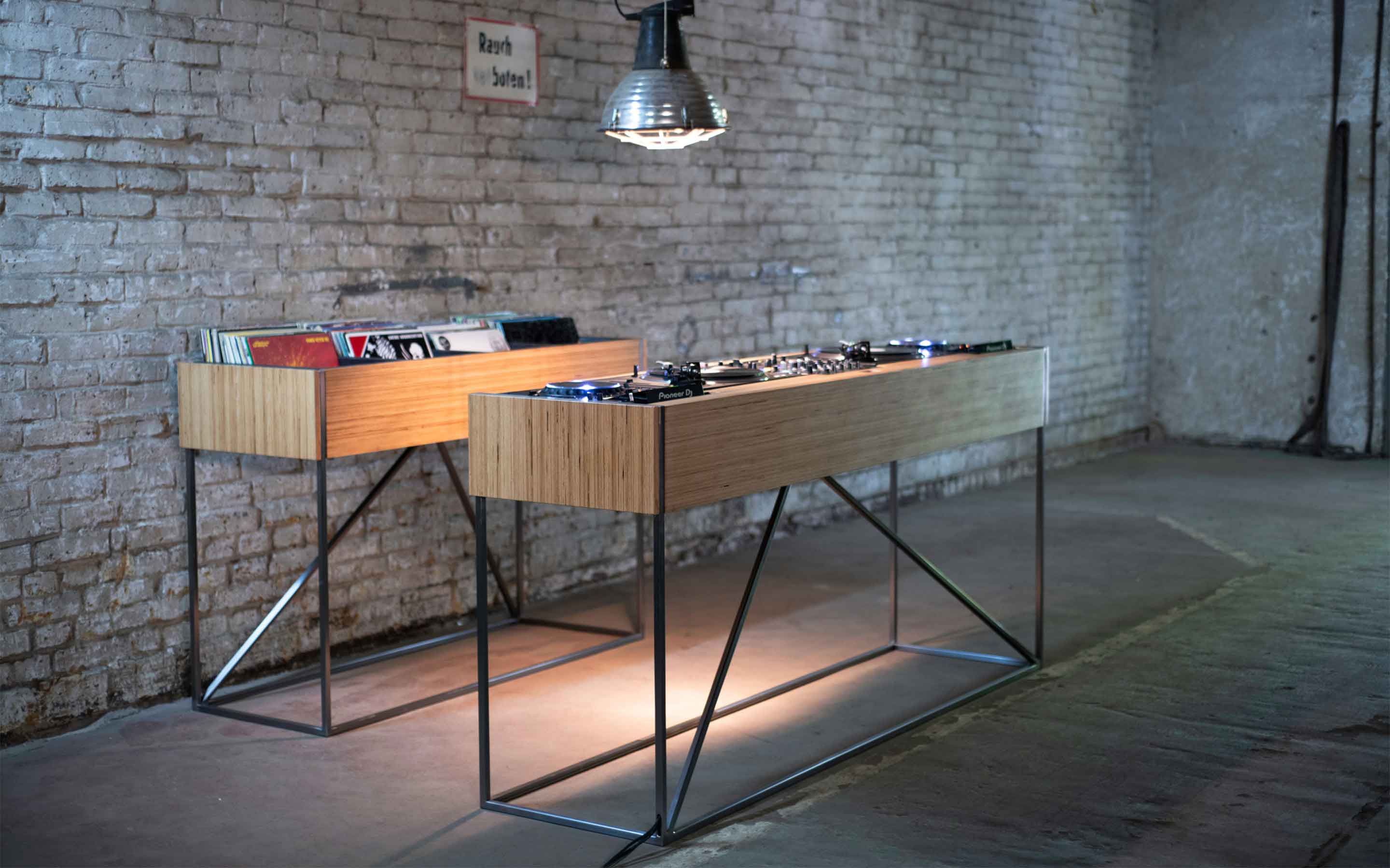 Studio SPC offers a handcrafted fully customizable DJ Console for audiophile purists.