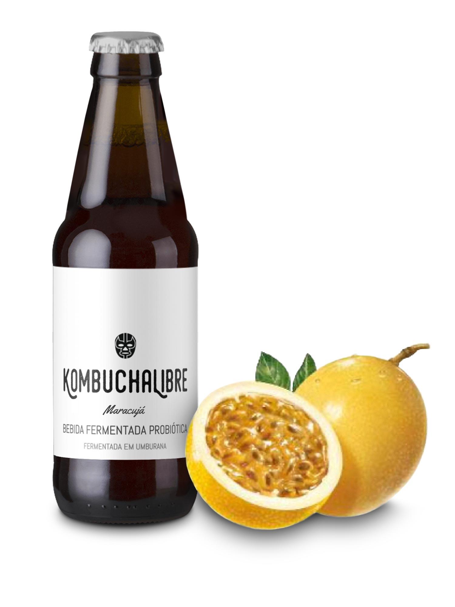 Kombucha Libre - Maracujá