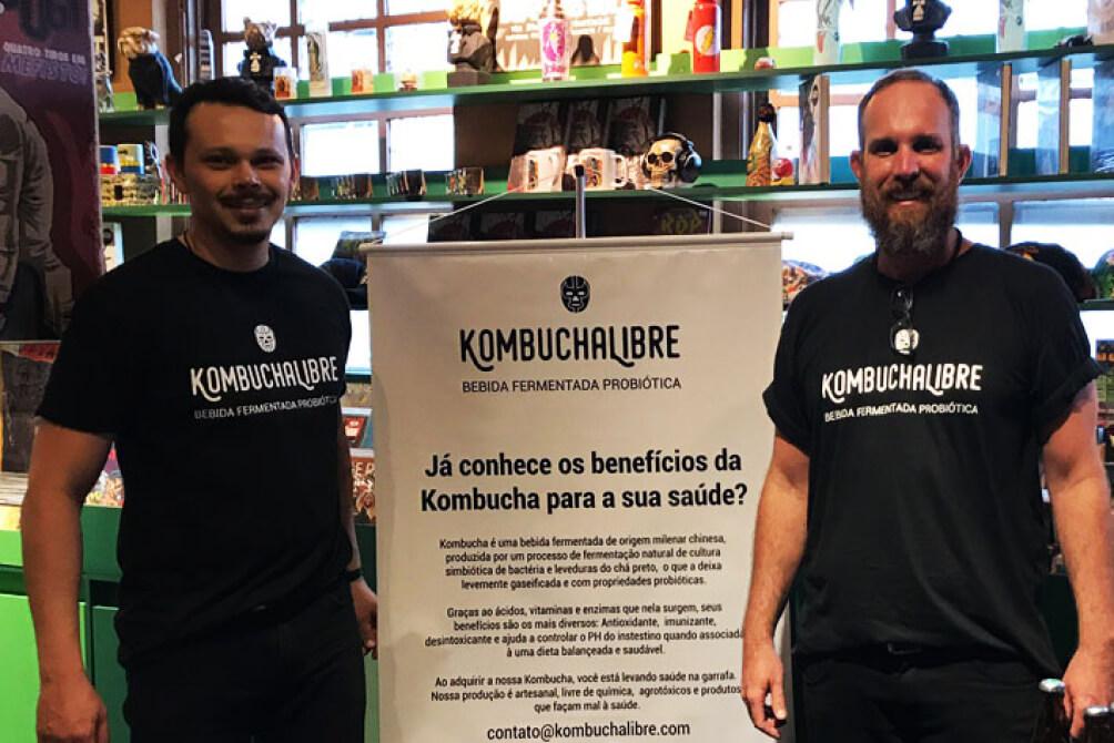 A dupla Kombucha Libre