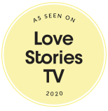 vector graphic for as seen on  Love Stories TV