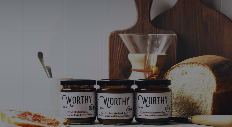 artisan worthy jams in jars