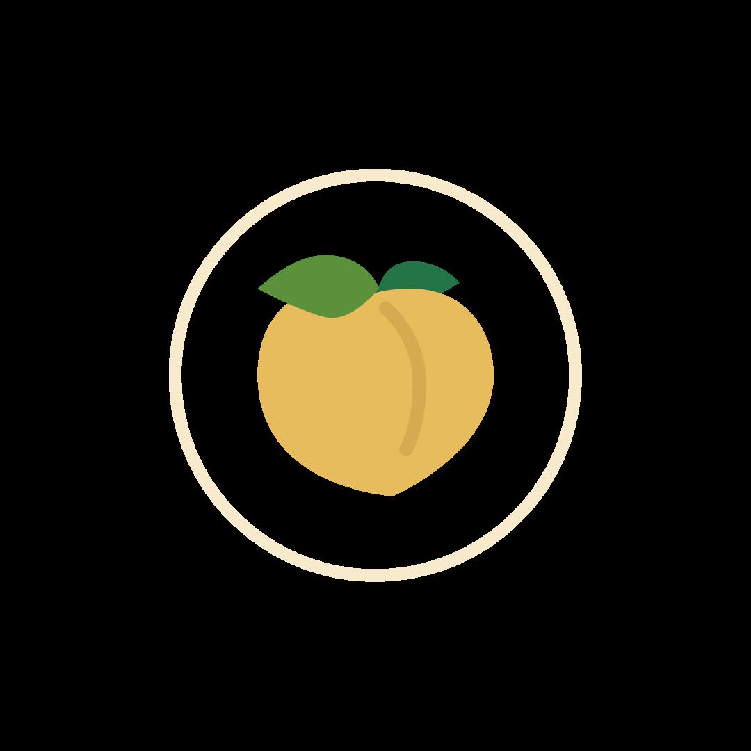 distinct taste peach icon