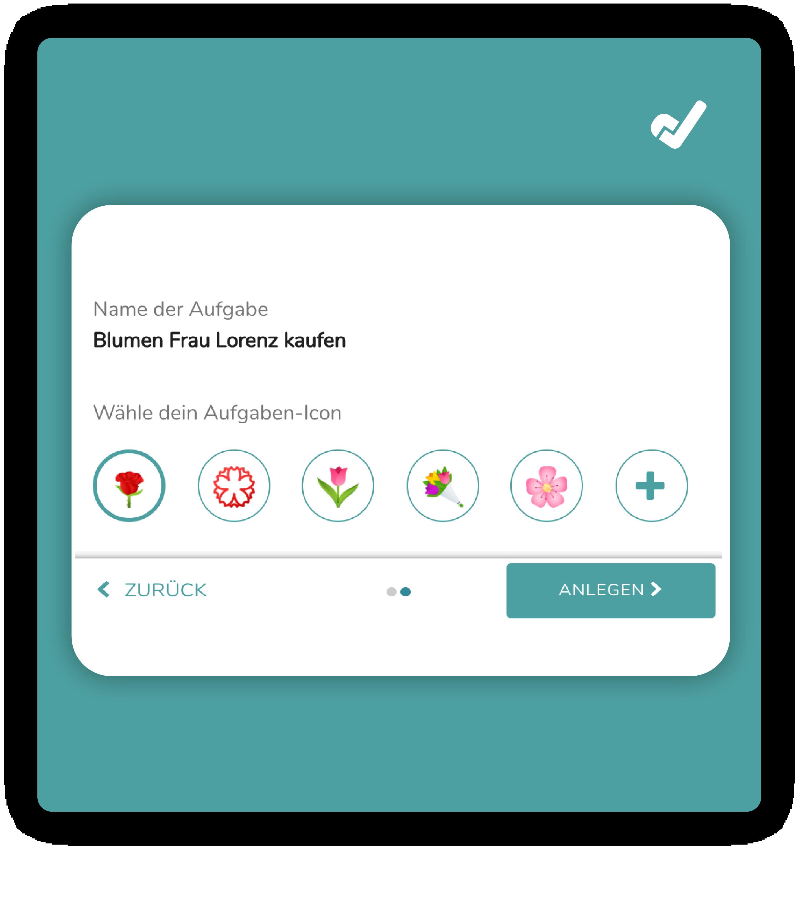 Eingabemaske Emojis