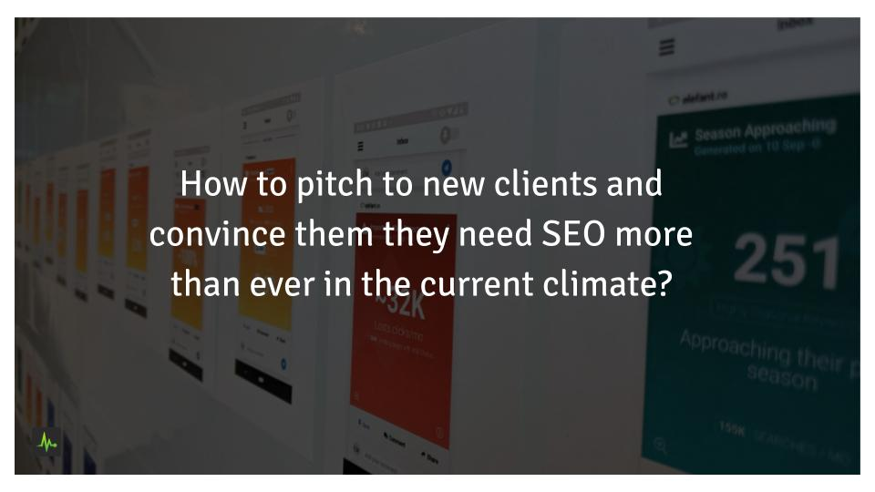 pitch new SEO clients in the covid climate