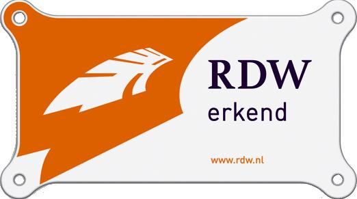 RDW Erkent logo