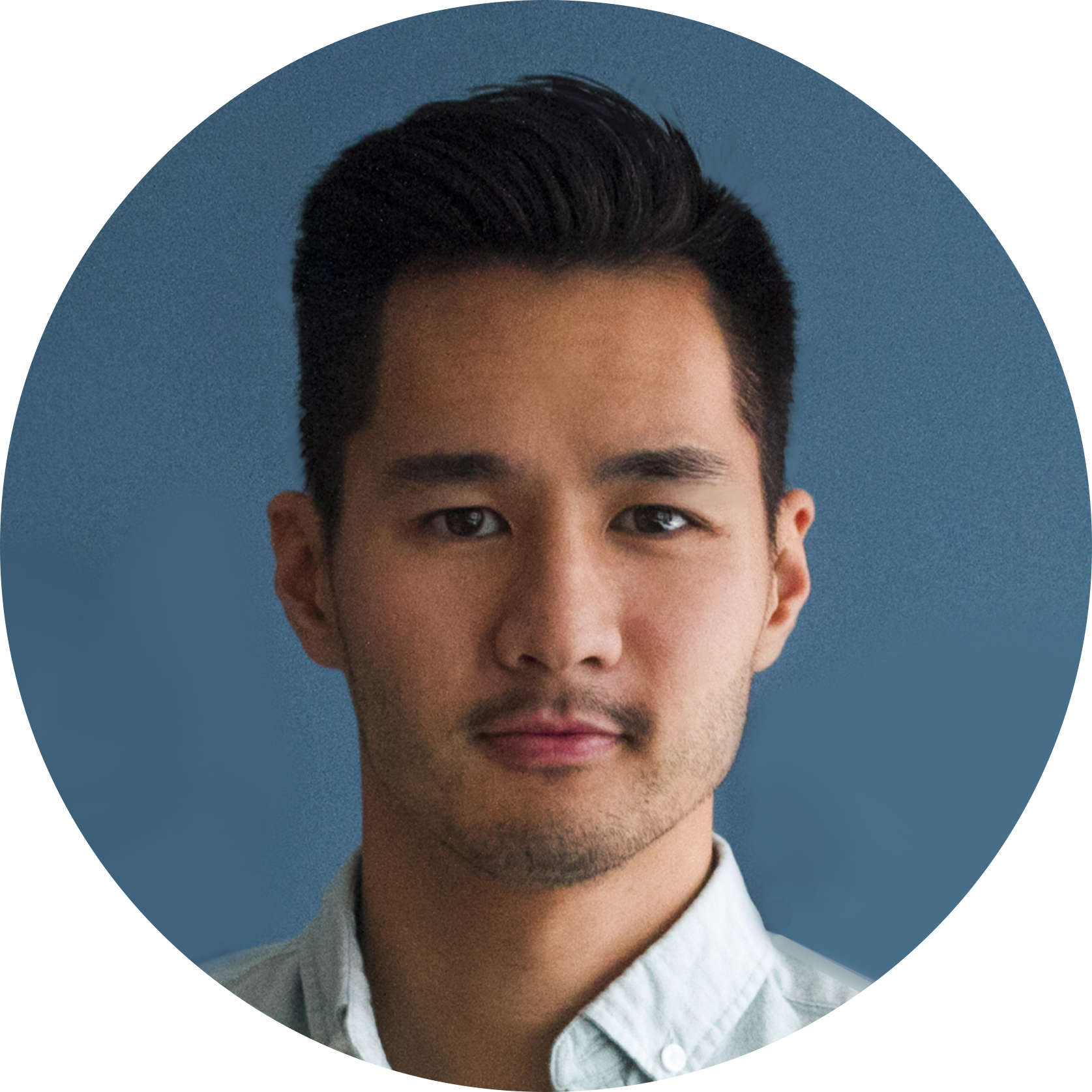 asian male headshot artist