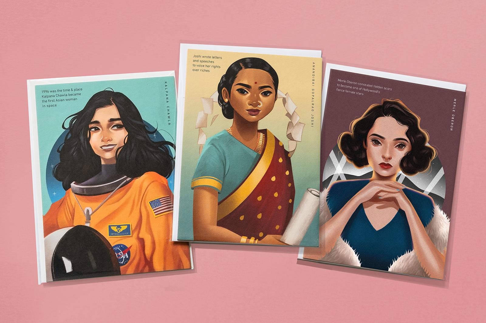 Hello Prosper South Asian women pioneers of Kalpana Chawla, Anandibai Gopalrao Joshi, Merle Oberon