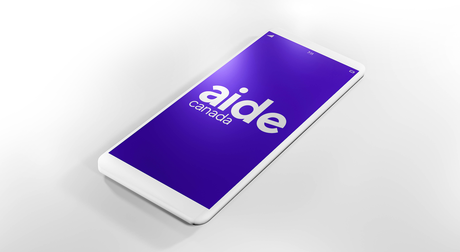 Aide Canada Logo & link to Aide project page.
