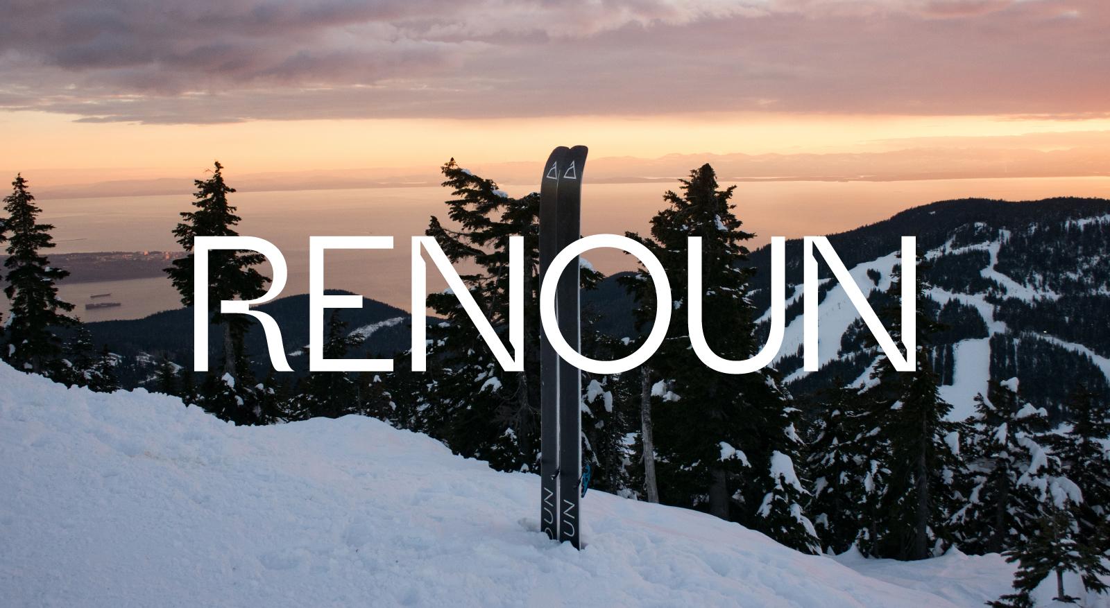 Renoun Skis Logo Link to Renoun Project Page
