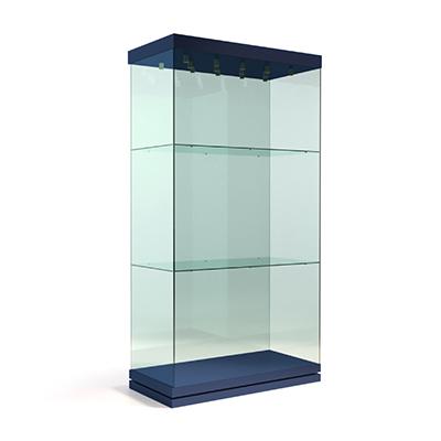 Вертикальная прямоугольная витрина