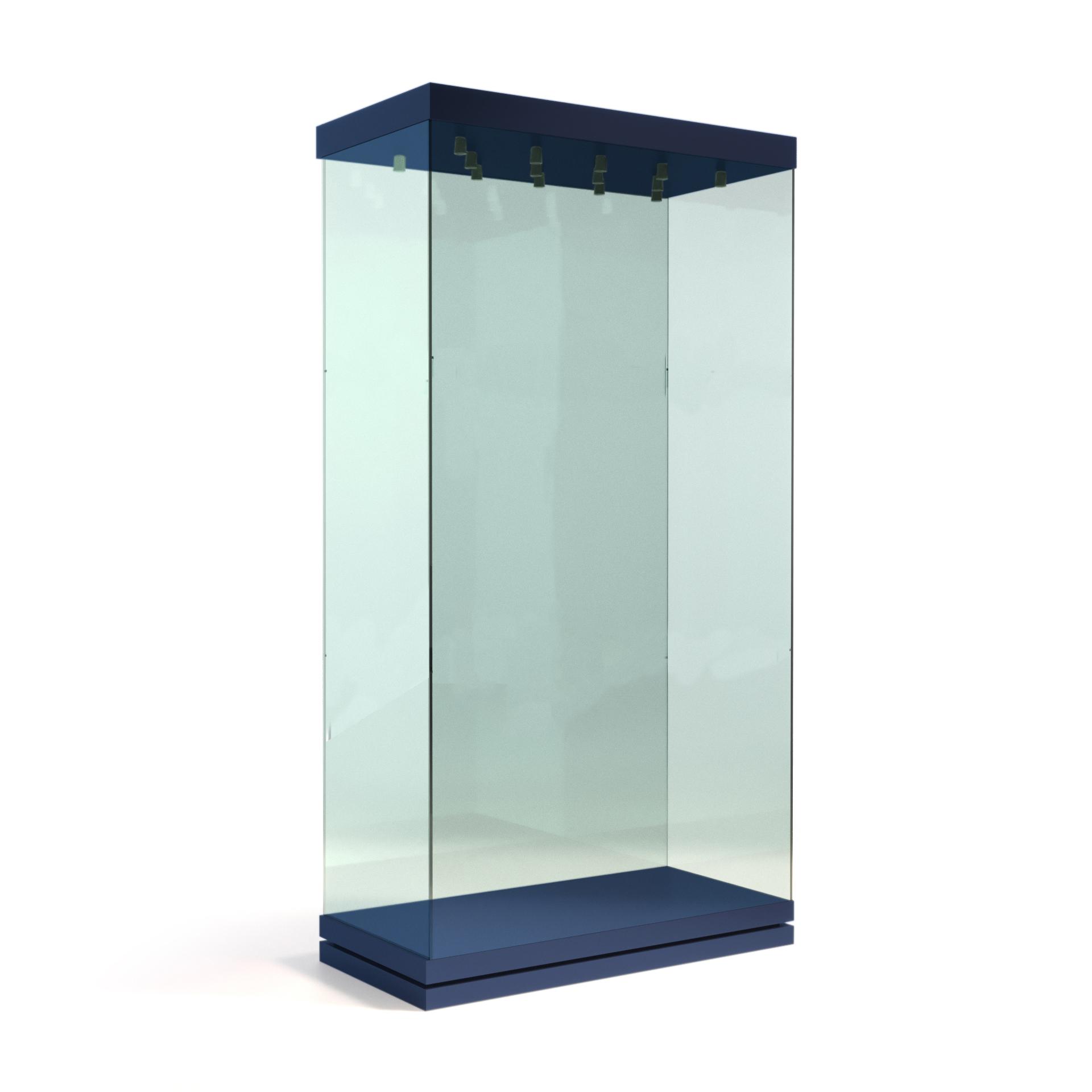 Вертикальная витрина без полок