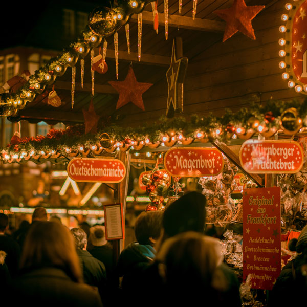Bath Christmas Market via Northern Belle