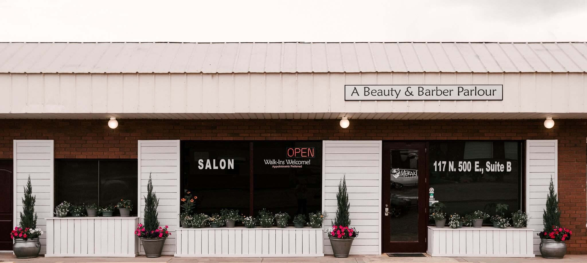 Meraki Salon, a beauty and barber parlour