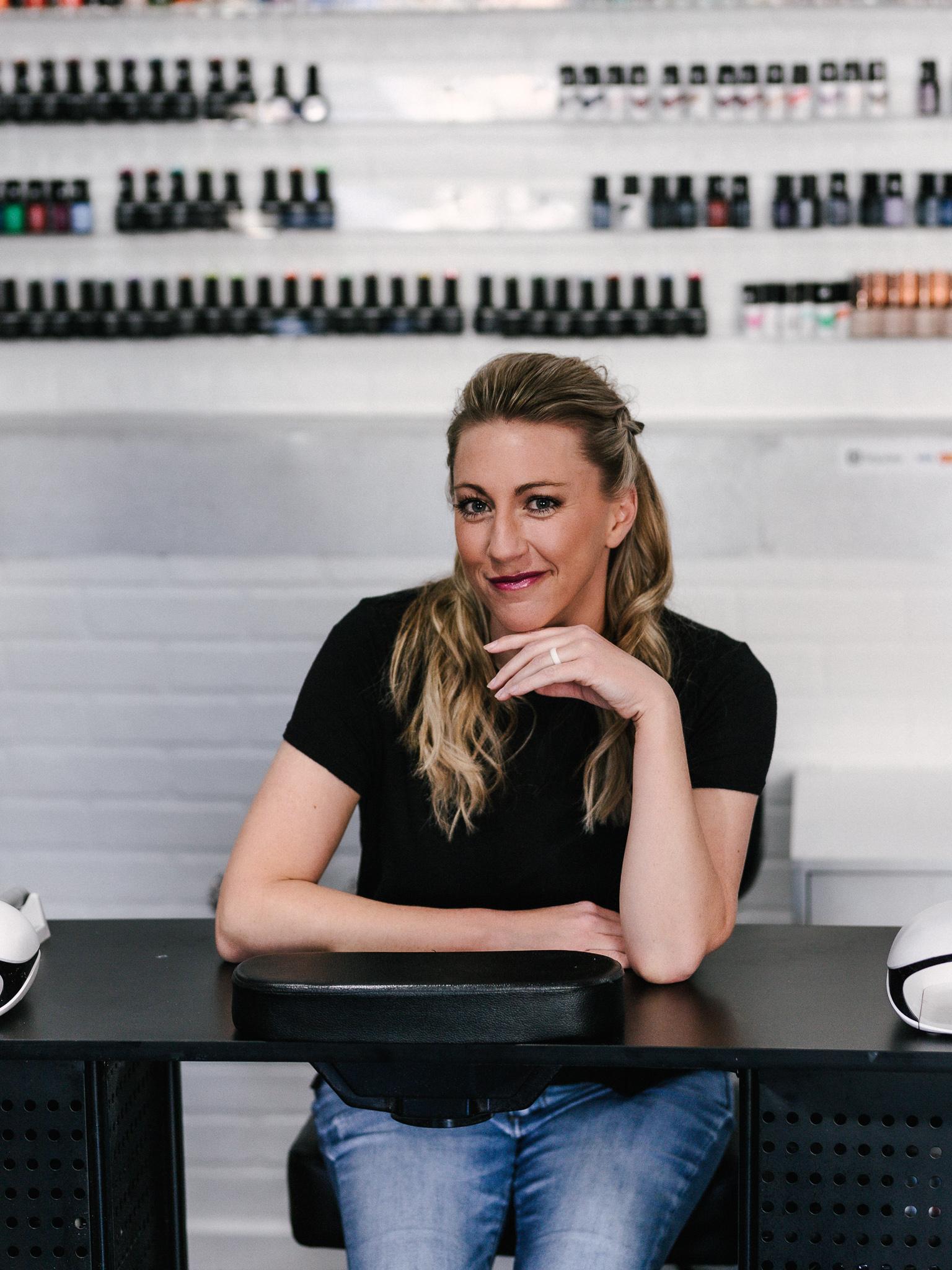 Stephannie Seegrist Portriat in Meraki Nail Salon