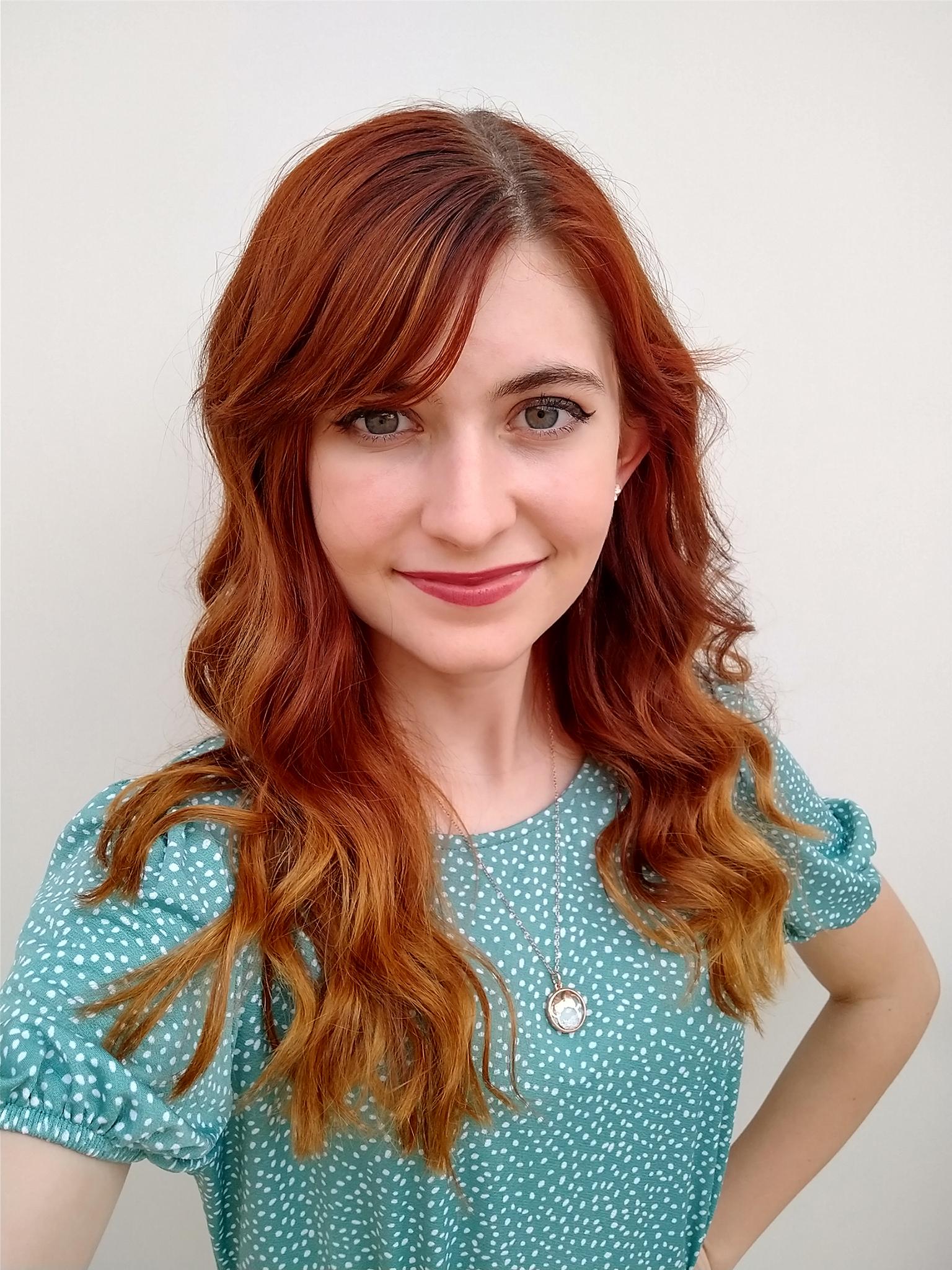 Bianca Rushton in Meraki Hair Salon