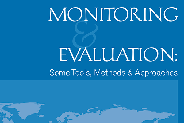 World Bank evaluation toolkit