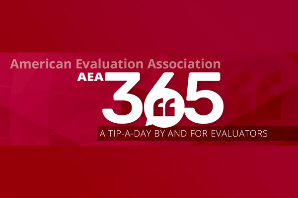 AEA365 - Tip a Day