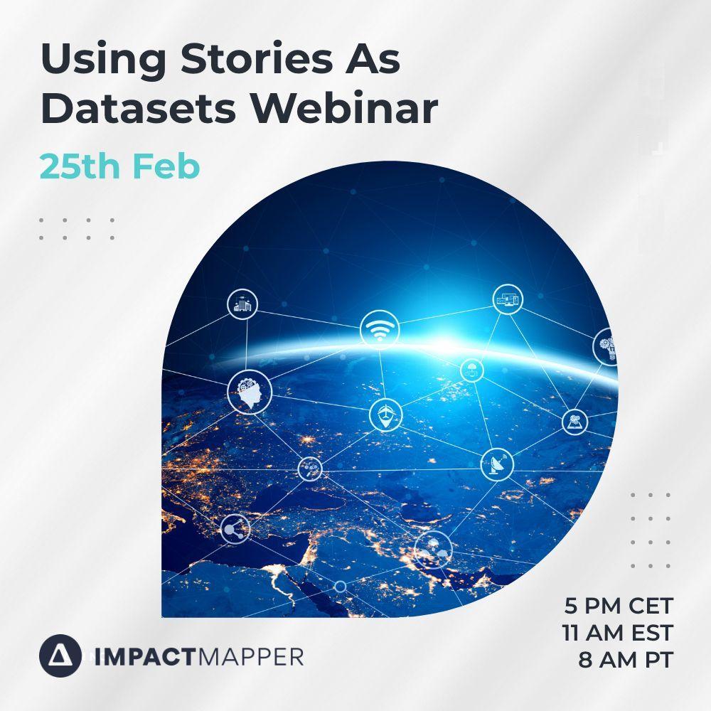 ImpactMapper Webinar Series: Using Stories as Datasets