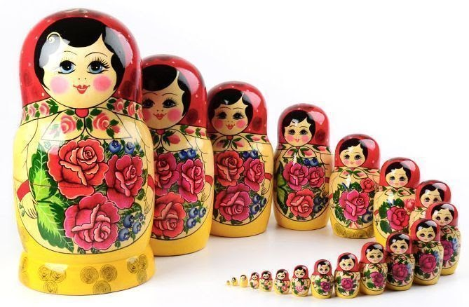 The History of Russian Nesting Dolls