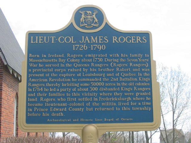 Lieut. Col. James Rogers