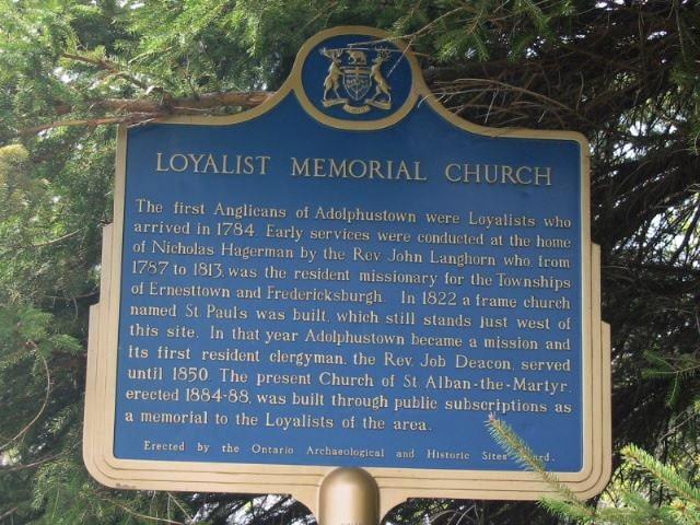 Loyalist Memorial Church