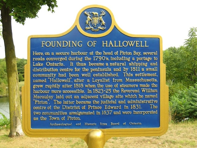 Founding of Hallowell
