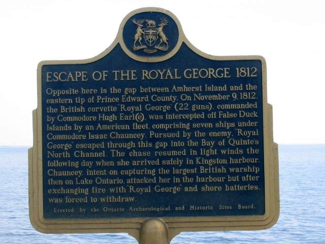 Escape of the Royal George